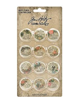Tim Holtz Idea-ology Quote Flair Idea-ology Tim Holtz Other