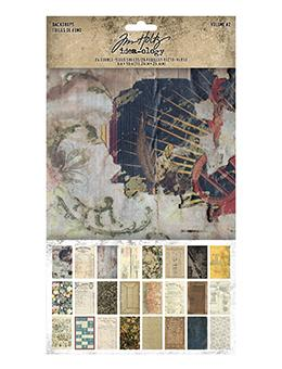 Tim Holtz Idea-ology Backdrops Volume 2 Idea-ology Tim Holtz Other