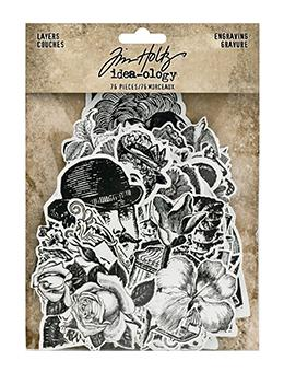Tim Holtz Idea-ology Layers Engraving Idea-ology Tim Holtz Other