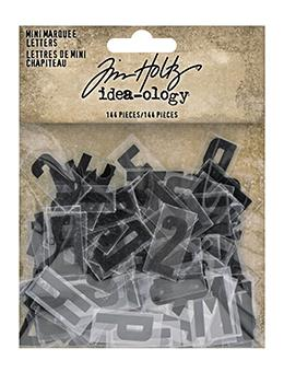 Tim Holtz Idea-ology Mini Marquee Letters Idea-ology Tim Holtz Other