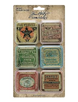 Tim Holtz Idea-ology Tin Tops Idea-ology Tim Holtz Other