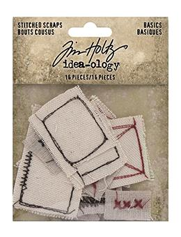 Tim Holtz Idea-ology Stitched Scraps Basics Idea-ology Tim Holtz Other