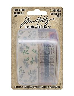 Tim Holtz Idea-ology Linen Tape Agenda Idea-ology Tim Holtz Other