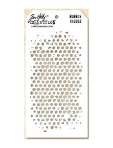 Tim Holtz® Stampers Anonymous - Layering Stencils - Bubble Stencil Tim Holtz Other