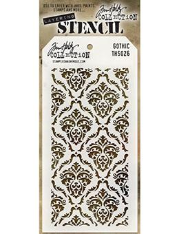 Tim Holtz® Stampers Anonymous - Layering Stencils - Gothic Stencil Tim Holtz Other