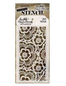 Tim Holtz® Stampers Anonymous - Layering Stencils - Lace