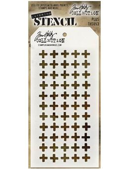 Tim Holtz® Stampers Anonymous - Layering Stencils - Plus Stencil Tim Holtz Other