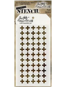 Tim Holtz® Stampers Anonymous - Layering Stencils - Plus
