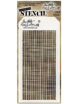 Tim Holtz® Stampers Anonymous - Layering Stencils - Linen