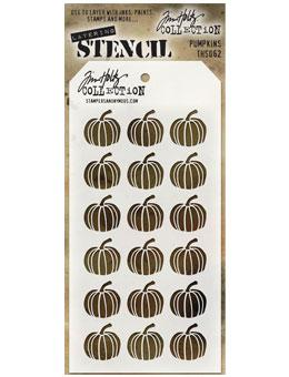 Tim Holtz® Stampers Anonymous - Layering Stencils - Pumpkins Stencil Tim Holtz Other
