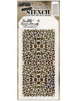 Tim Holtz® Stampers Anonymous - Layering Stencils - Ornate Stencil Tim Holtz Other