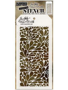 Tim Holtz® Stampers Anonymous - Layering Stencils - Splash Stencil Tim Holtz Other