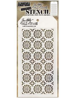 Tim Holtz® Stampers Anonymous - Layering Stencils - Rosette Stencil Tim Holtz Other