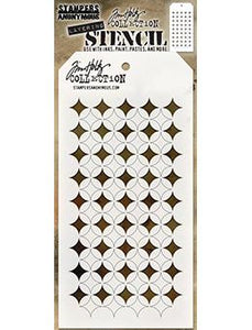 Tim Holtz Stampers Anonymous Layering Stencil - Shifter Burst