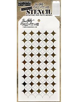 Tim Holtz Stampers Anonymous Layering Stencil - Shifter Burst Stencil Tim Holtz Other