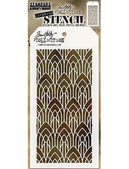 Tim Holtz Layering Stencil Ceco Arch Stampers Anonymous Tim Holtz Other