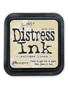 Tim Holtz Distress® Ink Pad Antique Linen Ink Pad Tim Holtz