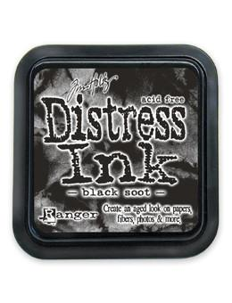 Tim Holtz Distress® Ink Pad Black Soot Ink Pad Tim Holtz