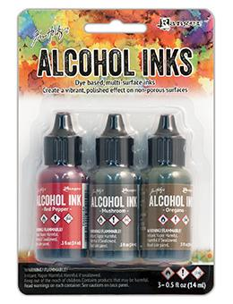 Tim Holtz® Alcohol Ink Kit - Tuscan Garden Kits Alcohol Ink