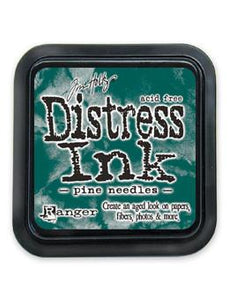 Tim Holtz Distress® Ink Pad Pine Needles Ink Pad Tim Holtz