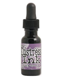 Tim Holtz Distress® Ink Pad Re-Inker Dusty Concord, 0.5oz Re-Inker Tim Holtz