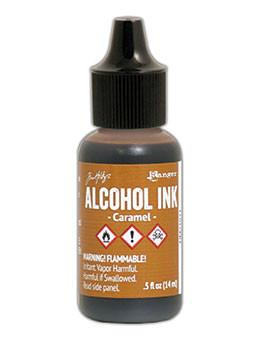 Tim Holtz® Alcohol Ink Caramel, 0.5oz Alcohol Ink Tim Holtz