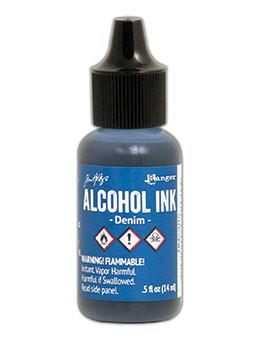 Tim Holtz® Alcohol Ink Denim, 0.5oz Ink Alcohol Ink