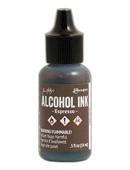 Tim Holtz® Alcohol Ink Espresso, 0.5oz Ink Alcohol Ink