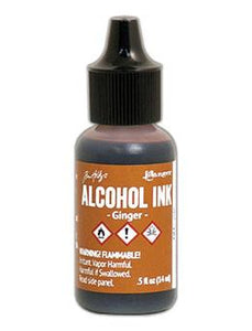 Tim Holtz® Alcohol Ink Ginger, 0.5oz
