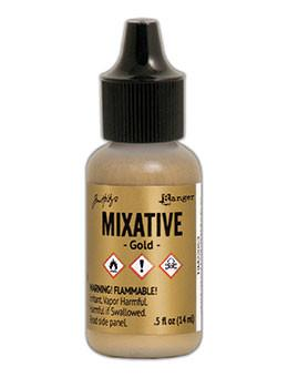 Tim Holtz® Mixatives™ Gold, 0.5oz Ink Alcohol Ink