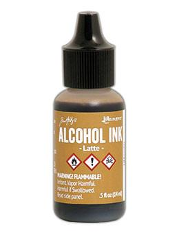 Tim Holtz® Alcohol Ink Latte, 0.5oz Ink Alcohol Ink