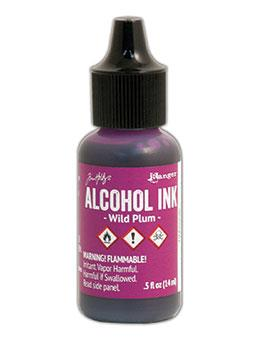 Tim Holtz Alcohol Ink Wild Plum 0.5oz Alcohol Ink Tim Holtz