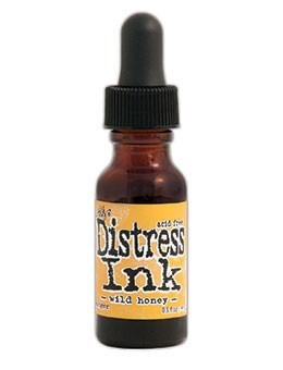 Tim Holtz Distress® Ink Pad Re-Inker Wild Honey, 0.5oz Re-Inker Tim Holtz