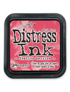 Tim Holtz Distress® Ink Pad Festive Berries Ink Pad Tim Holtz