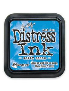Tim Holtz Distress® Ink Pad Salty Ocean Ink Pad Tim Holtz