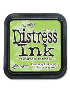 Tim Holtz Distress® Ink Pad Twisted Citron Ink Pad Tim Holtz