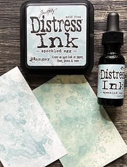 Reinker Lot Speckled Egg Distress Ink Pad Tim Holtz Bundle