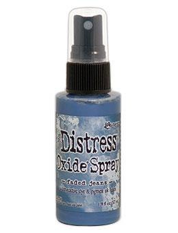 Tim Holtz Distress® Oxide® Sprays Faded Jeans Oxide Spray Tim Holtz