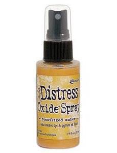 Tim Holtz Distress® Oxide® Sprays Fossilized Amber Oxide Spray Tim Holtz