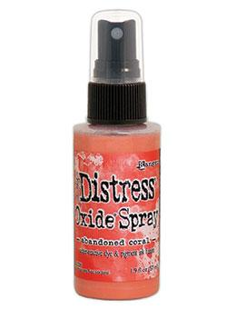 NEW! Tim Holtz Distress® Oxide® Sprays Abandoned Coral