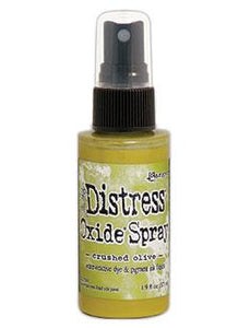 Tim Holtz Distress® Oxide® Sprays Crushed Olive Oxide Spray Tim Holtz