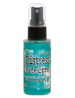 NEW! Tim Holtz Distress® Oxide® Sprays Peacock Feathers