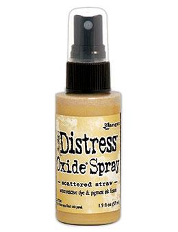 Tim Holtz Distress® Oxide® Sprays Scattered Straw Oxide Spray Tim Holtz