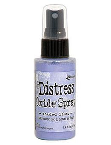 NEW! Tim Holtz Distress® Oxide® Sprays Shaded Lilac