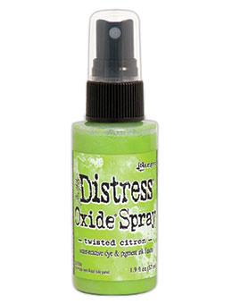 NEW! Tim Holtz Distress® Oxide® Sprays Twisted Citron