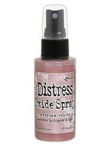 NEW! Tim Holtz Distress® Oxide® Sprays Victorian Velvet