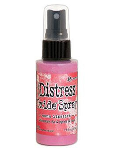 Tim Holtz Distress® Oxide® Sprays Worn Lipstick