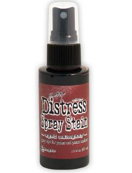 Tim Holtz Distress® Spray Stain Aged Mahogany, 2oz Spray Stain Tim Holtz