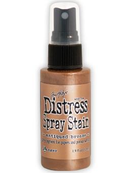 Tim Holtz Distress® Spray Stain Antiqued Bronze, 2oz Spray Stain Tim Holtz