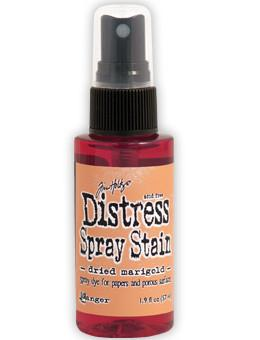 Tim Holtz Distress® Spray Stain Dried Marigold, 2oz